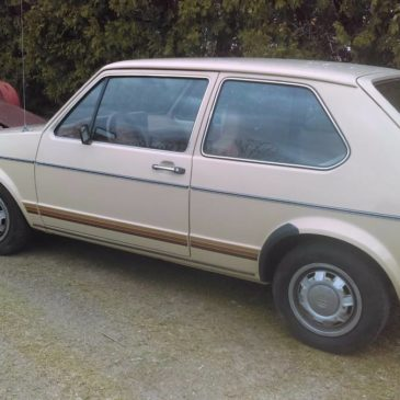 1981 VW Rabbit low miles – $4500