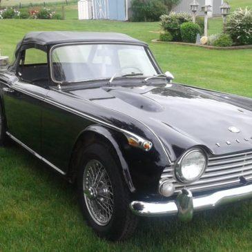 1967 Triumph TR4A irs – $10000 (Grass lake)