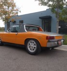 For Sale 1972 Porsche 914 with 2.0 Liter Engine Swap